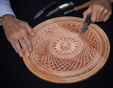 Fries houtsnijwerk in de knipe immaterieel erfgoed