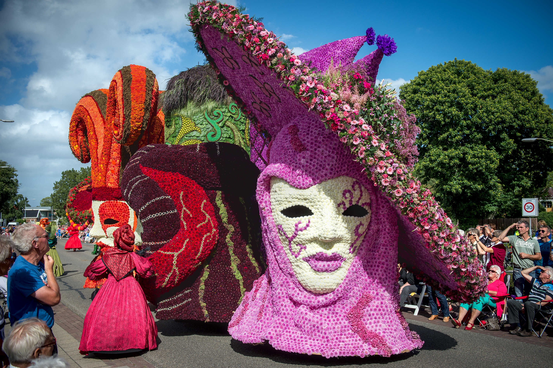 eelde flower parade - immaterieel erfgoed