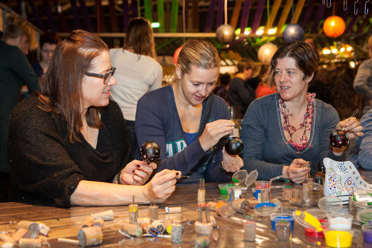 Workshop stipwerk Margriet Winter Fair